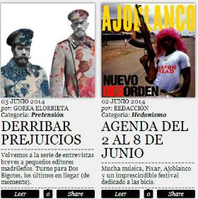 Entrevista a Dos Bigotes en Madrid
