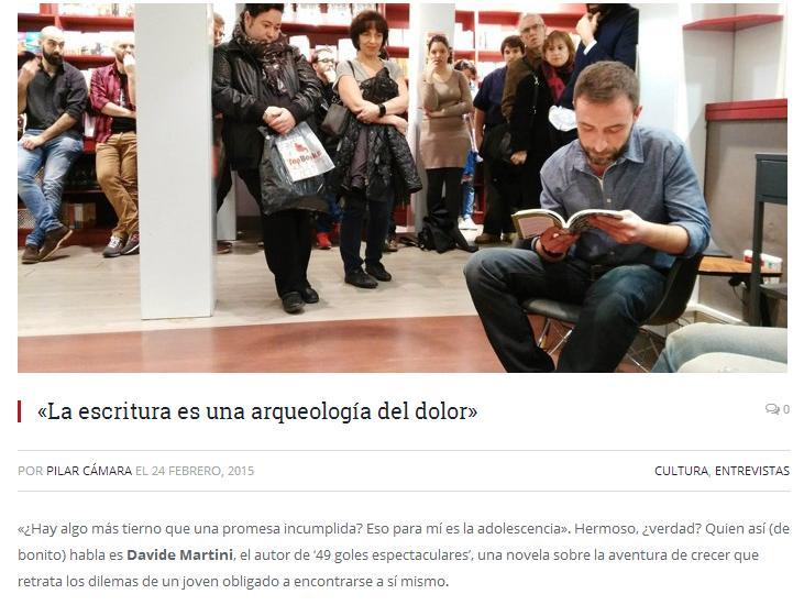 Entrevista a Davide Martini en Murray Magazine