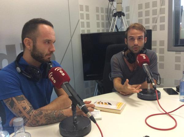 Gonzalo Izquierdo y Julián Martínez Gómez en Déjate de Historias