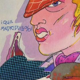 ¡Qué madridvilloso!, ilustración de Gerardo Amechazurra
