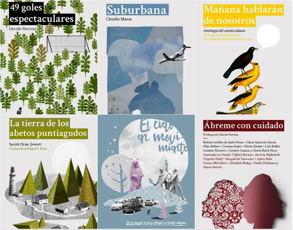 Los seis libros de Dos Bigotes de 2015