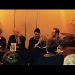 Presentación de 'Suburbana' y 'Mañana hablarán de nosotros' en Antinous